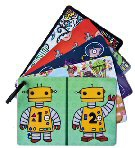 Robot Series Large Bee Stractor Cards